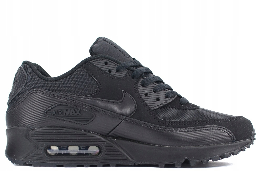 nike air max 90 leather all czarny 42