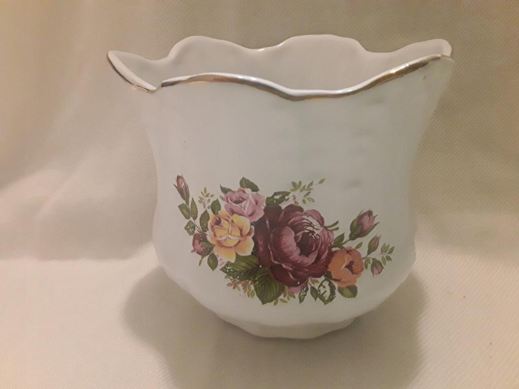 Doniczka osłonka pojemnik EQUESTIAN ceramika