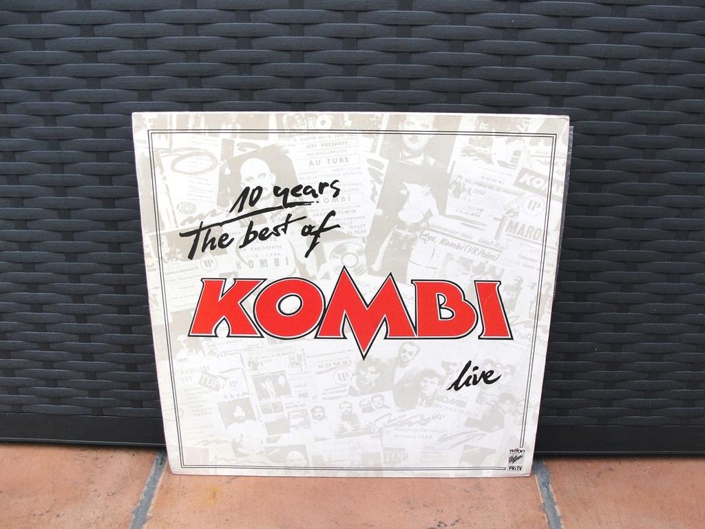 Kombi - The Best Of Kombi Live 1sze wyd 1986