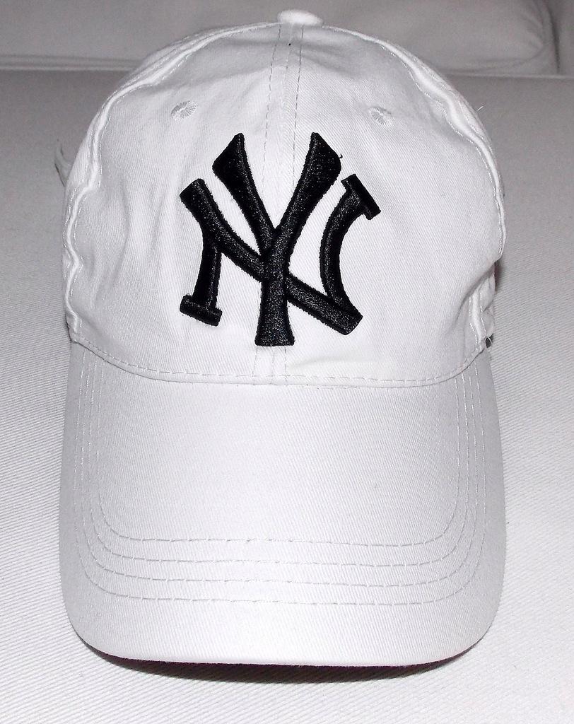 nowa era czapka biała