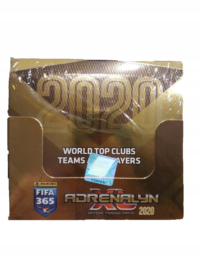 FIFA 365 Adrenalyn XL Saszetki z Kartami 48 szt