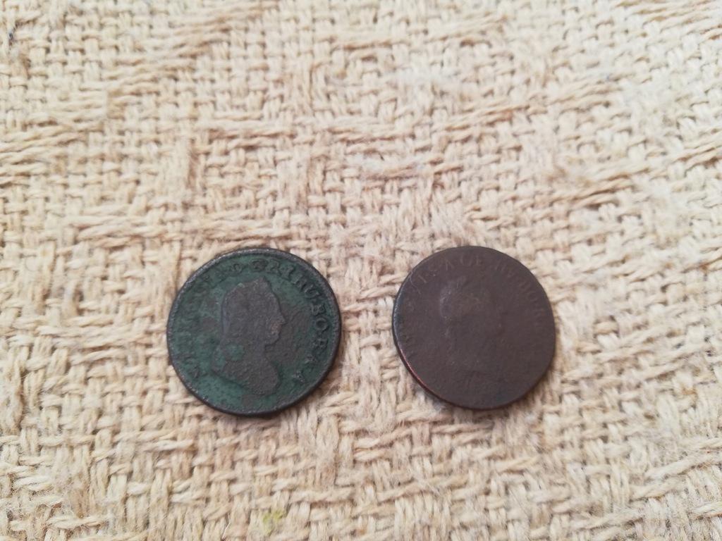 Moneta monety ein Austria 1 krajcar kreuzer 1790 S