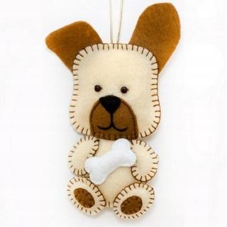 zestaw kreatywny pies do szycia DIY zrób to sam