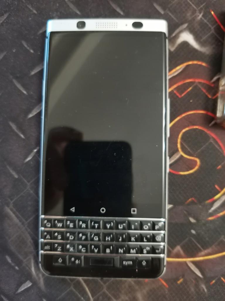 Smartfon BlackBerry Keyone srebrny 32 GB