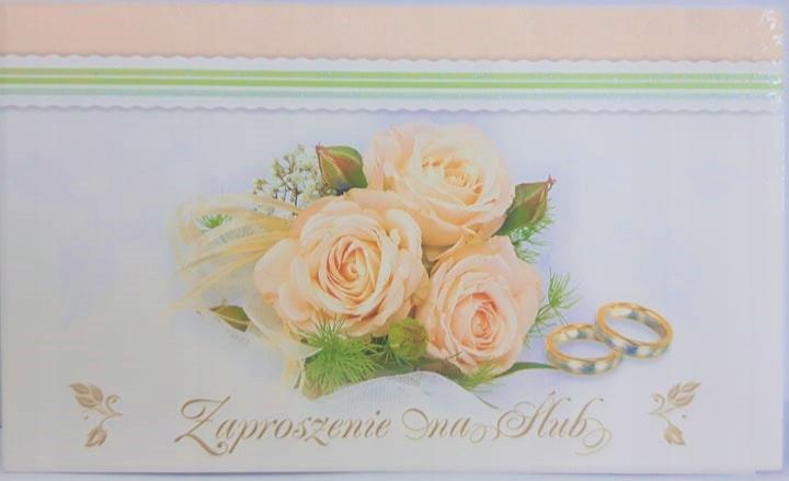 Zaproszenie Ślubne ślub Ś7