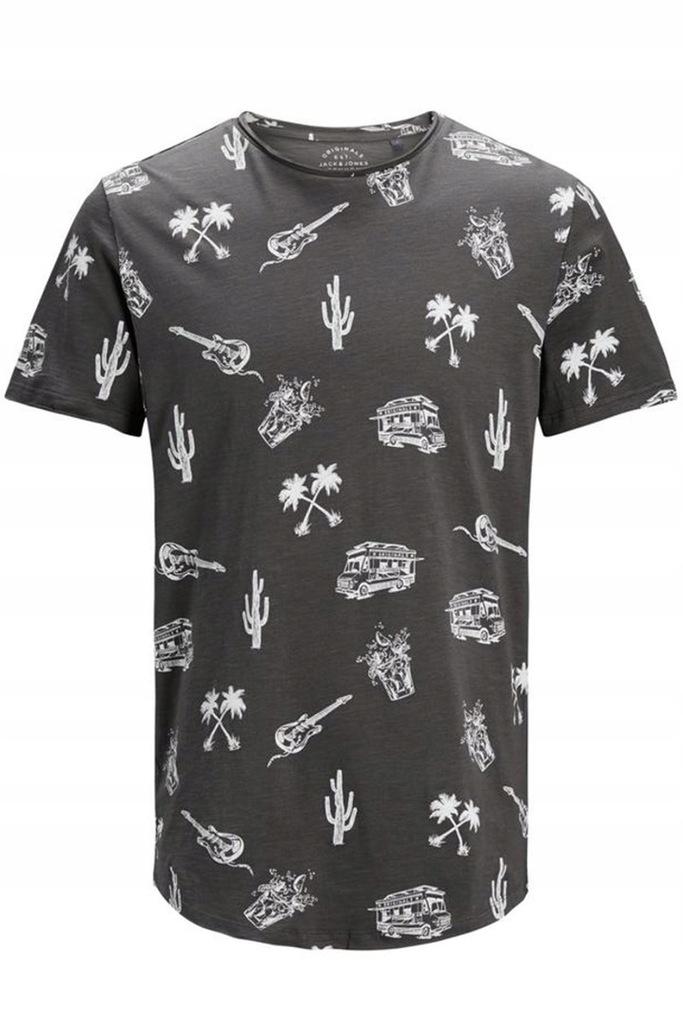 JACK&JONES JORPUMPED Slim męski t-shirt R.L