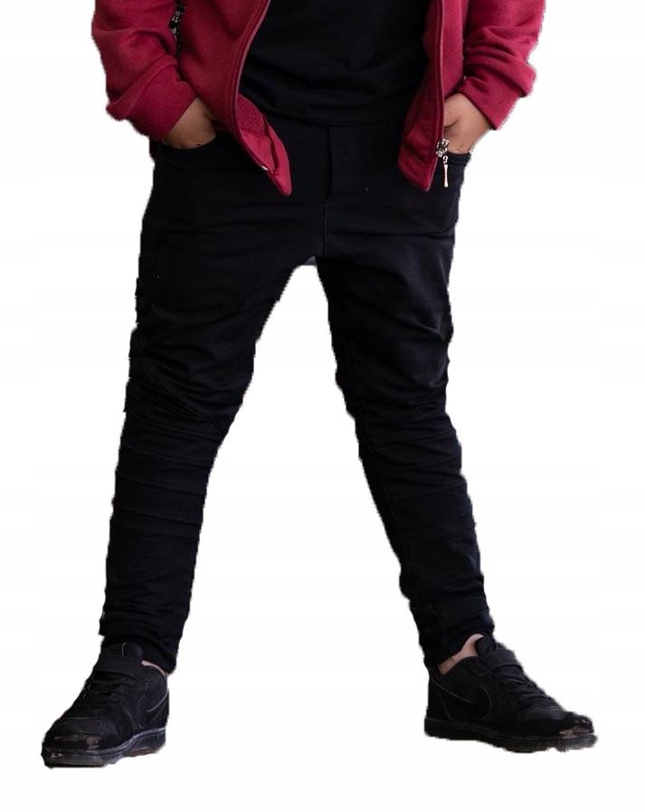 Spodnie All for Kids 152 158 czarne PRZESZYCIA
