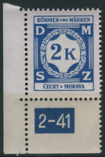 Cechy a Morava 2 Kc. - DMSZ / 2 - 41