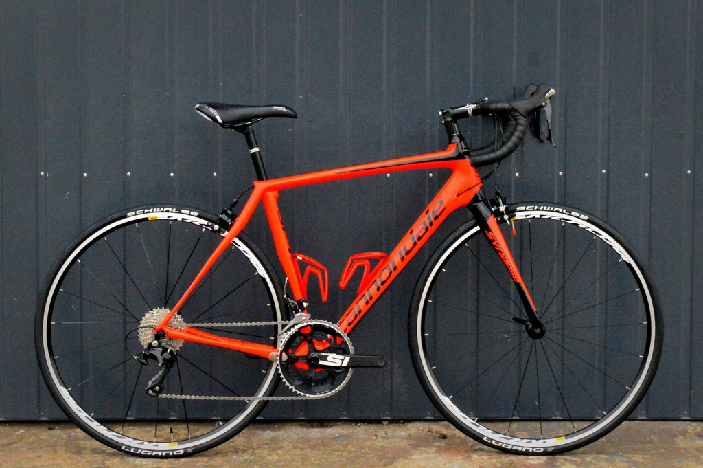 CANNONDALE SYNAPSE 105 54 orange CARBON M