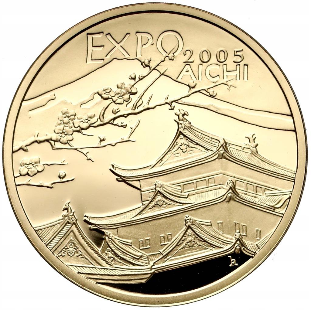 901. 200 zł 2005 Expo Aichi - 15,5 g Au.900