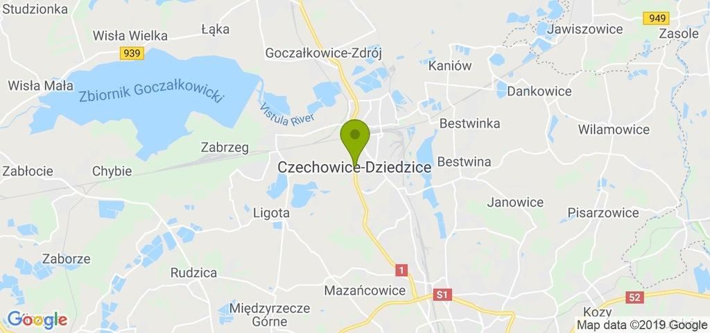 Na wynajem Czechowice-Dziedzice, bielski, 17,00 m²