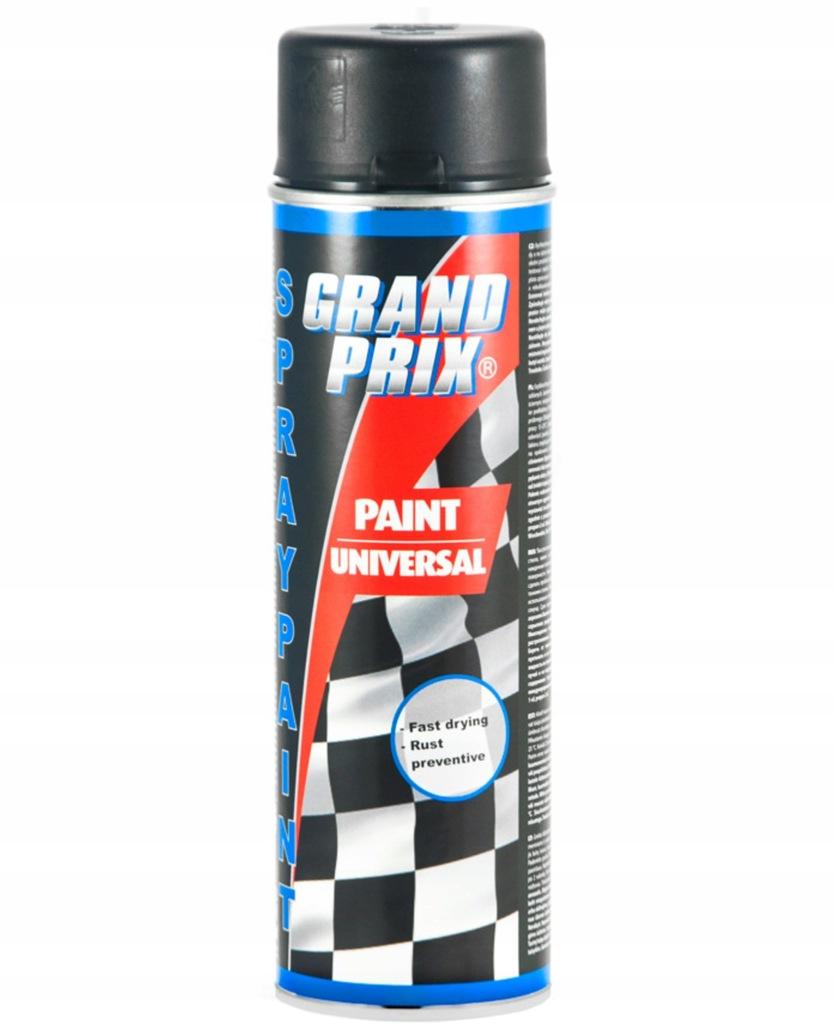 Lakier samochodowy GRAND PRIX 500ml czarny półmat
