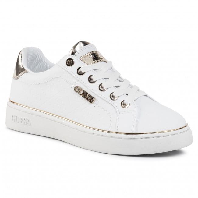 Sneakersy Damskie Guess Białe FL5BEK obuwie wrzos