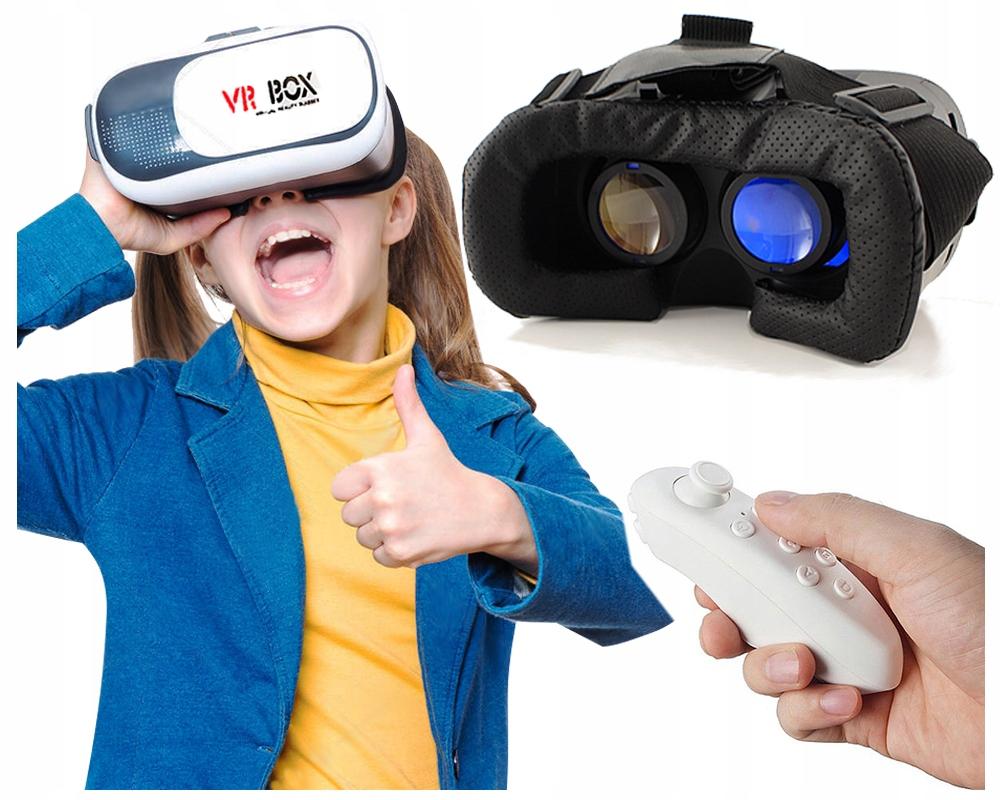 NA PREZENT DLA NASTOLATKA Okulary GOGLE VR+PILOT
