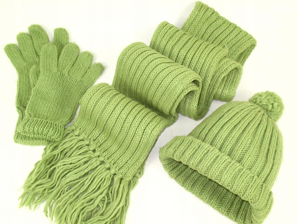 ZARA czapka + szalik + rękawiczki 5-6 lat
