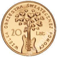 20 lat WOŚP_moneta - stan menniczy