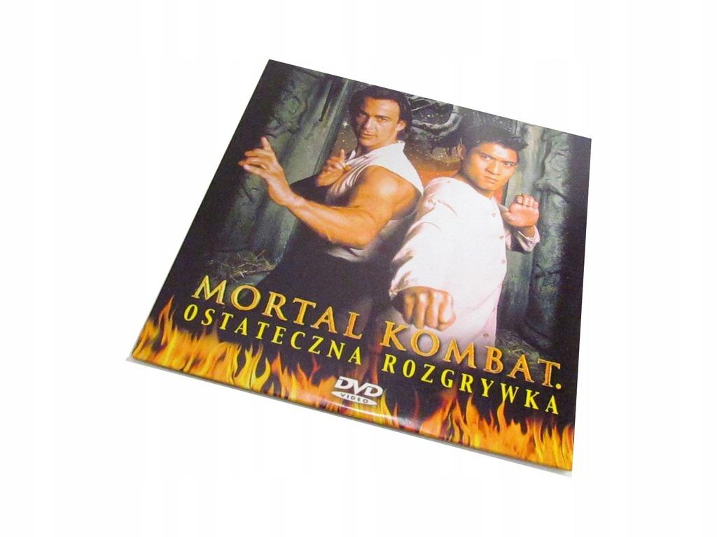 Mortal Kombat ostateczna rozgrywka DVD