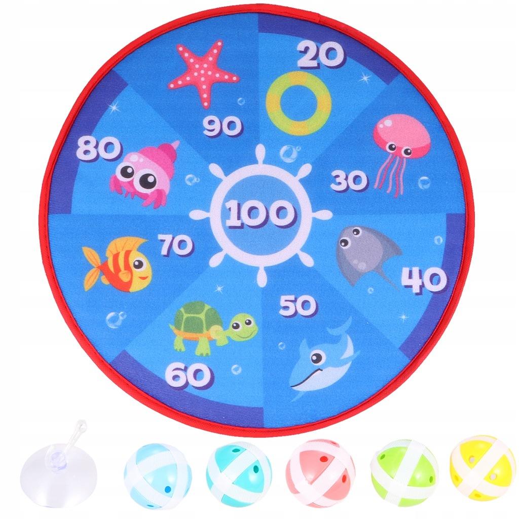 1 Zestaw dla dzieci Cartoon Okrągły materiał Dart