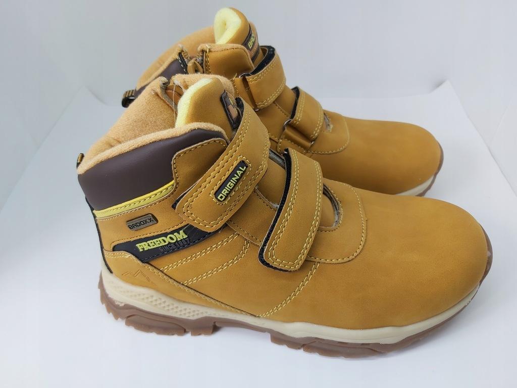 Ciepłe, zimowe buty Badoxx 5XC-7717A rozm 33