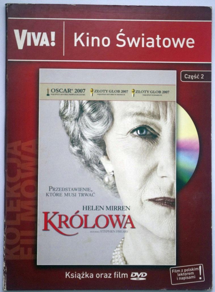 Stephen Frears KRÓLOWA Helen Mirren DVD