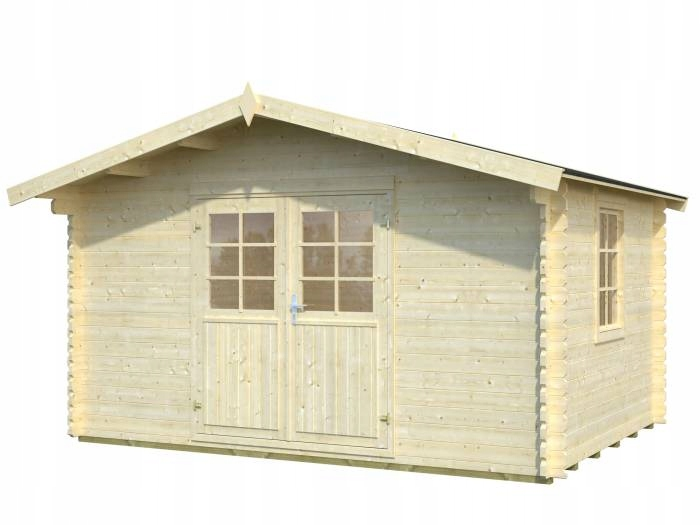 Drewniany domek narzędziowy - EKO 87 400x300
