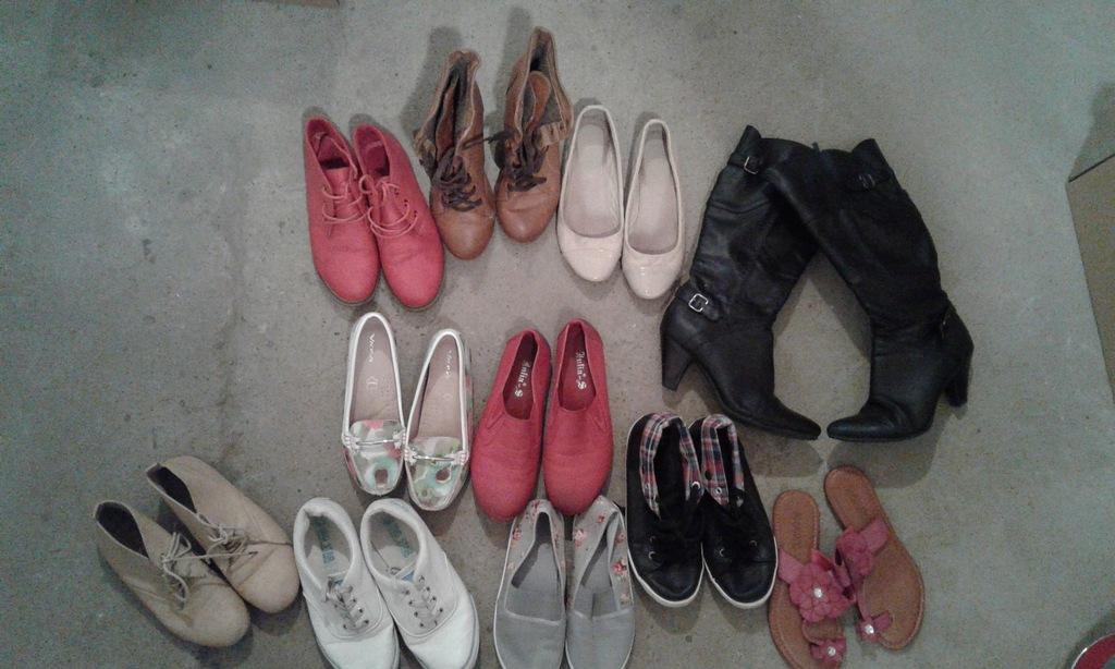 11 par butów za 80 zł Wysyłka GRATIS