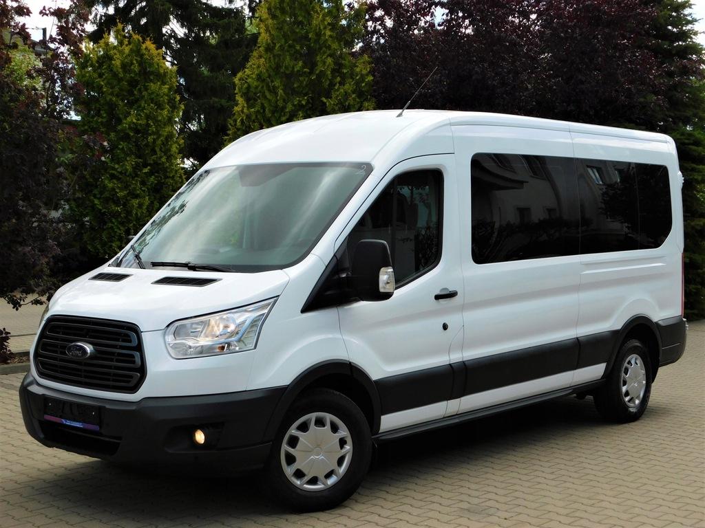 Ford Transit 2.2 TDCI-130KM 9-Os! SalonPL! 2xKima!