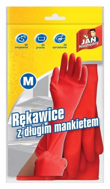 Rękawice z długim mankietem rozmiar M JanNiezbędny