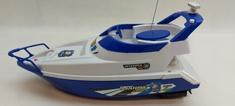 Łódka Zdalnie Sterowana Motorówka Baterie+Gratis