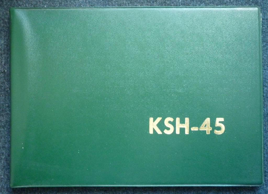 Katalog Części Backhoe Bulldozer KSH-45 Poland PRL