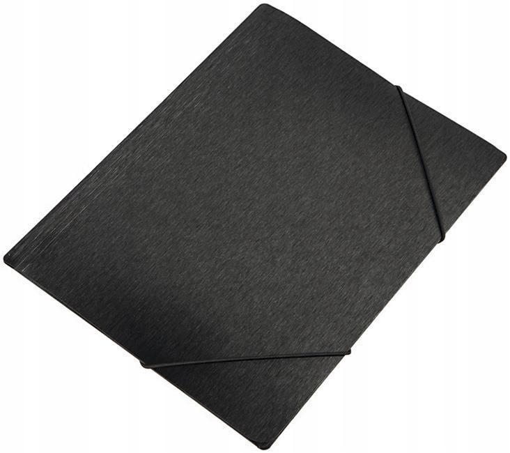 Teczka na gumkę A4 Focus Simple czarna