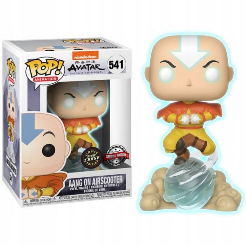 Funko POP AVATAR AANG ON AIRSCOOTER 541 CHASE