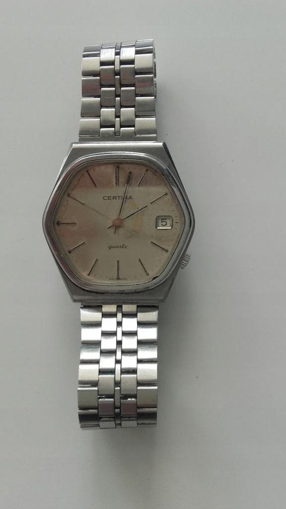 Zegarek Certina Quartz