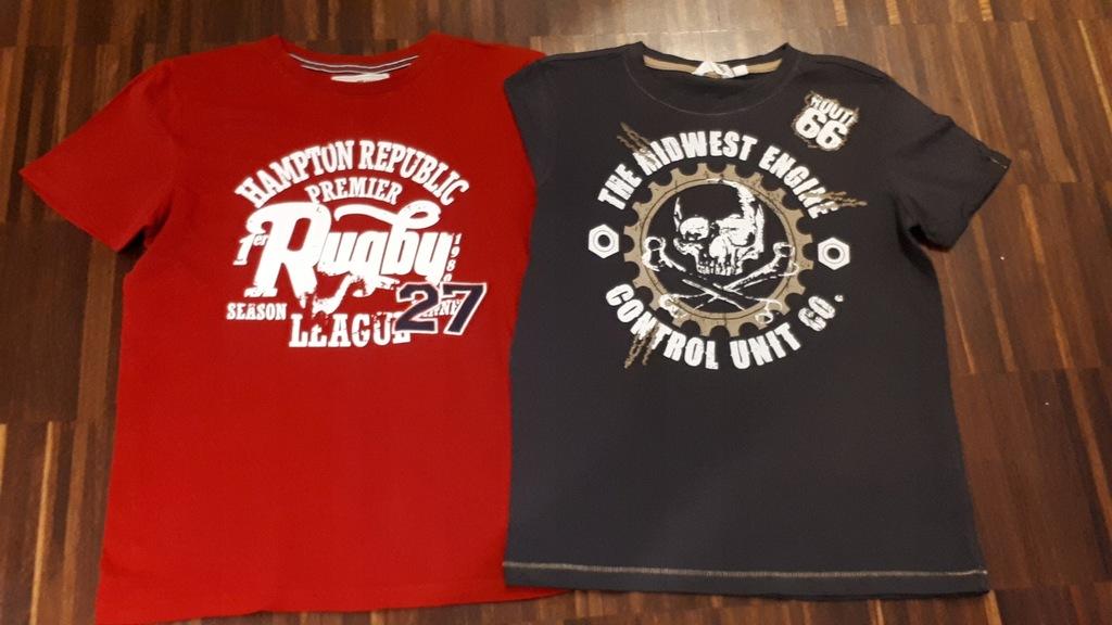 2 T-shirty Kappahl 146/152 jak NOWE