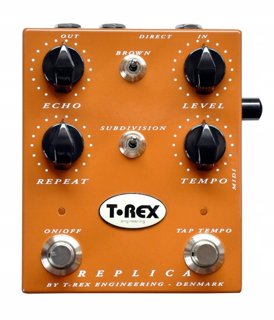 Efekt gitarowy typu delay - T-Rex Replica
