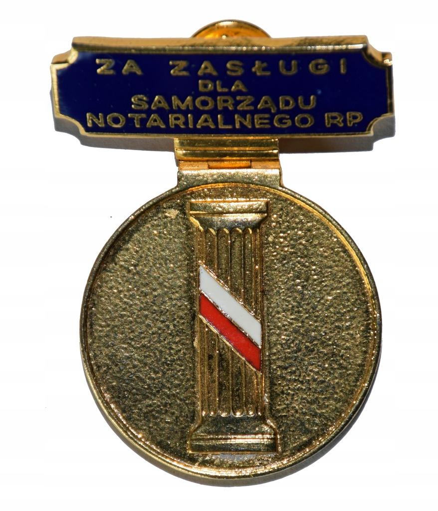 Odznaka za zasługi dla samorządu notarialnego RP