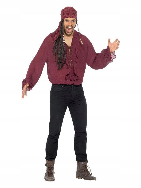 Koszula Pirata M, Piracka, Bal przebierańców, Stró