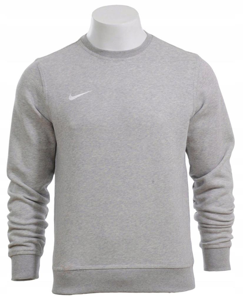 Nike bluza męska klasyczna bawełna szara M 0789.