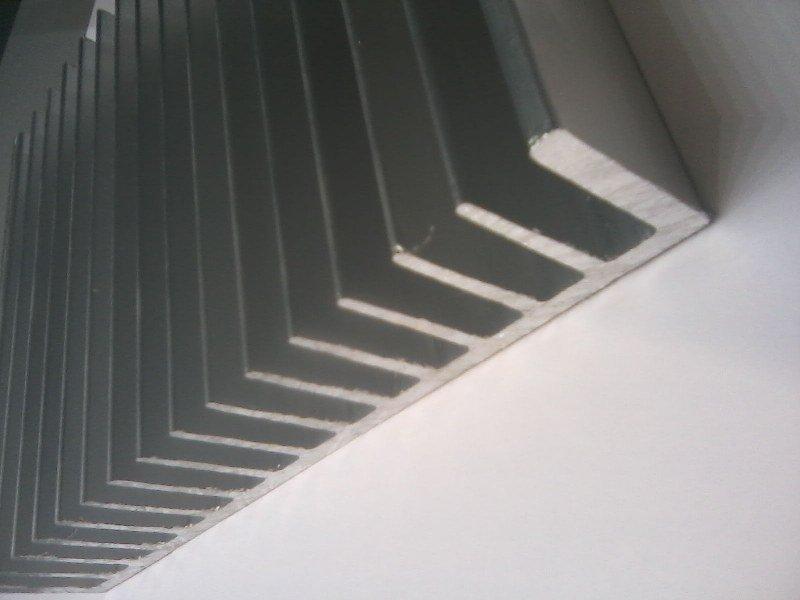 radiator aluminiowy A6023 190x50 na wymiar max1200