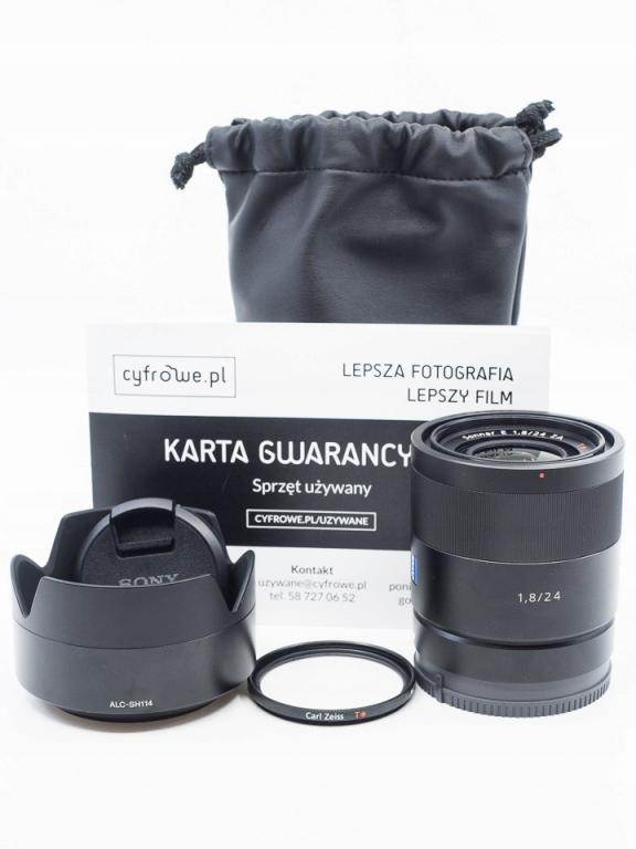 Sony E 24 mm f/1.8 ZA Carl Zeiss Sonnar T*
