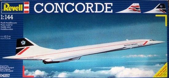 REVELL 04257 Concorde !W-WA Ursynów od ręki!