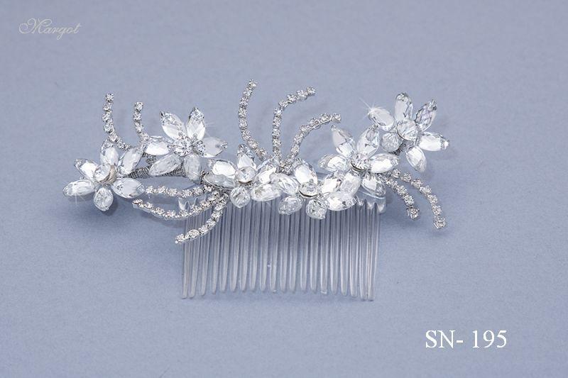 Stroik ślubny SN195 - fryzury ślubnej, głowę