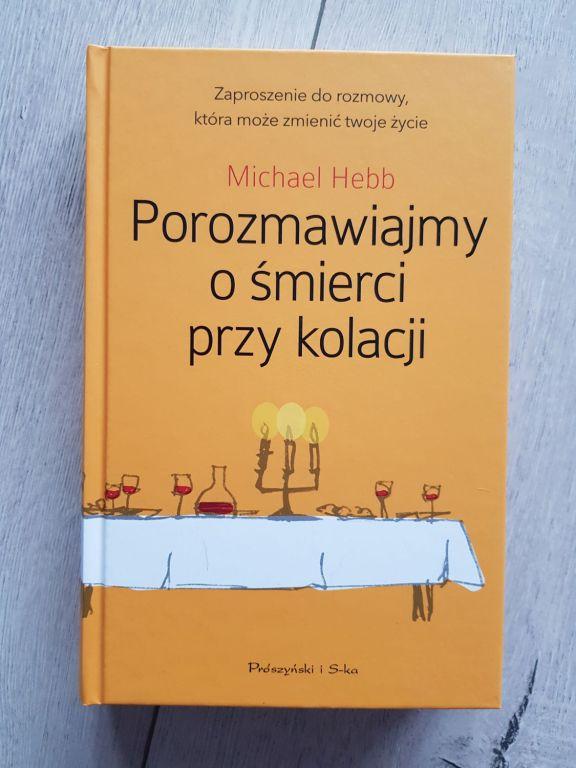 Książka Porozmawiajmy o śmierci przy kolacji NOWA