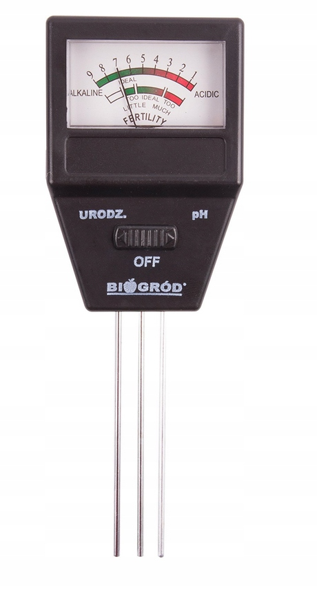 Tester podłoża 2w1 pH urodzajność gleby 071505