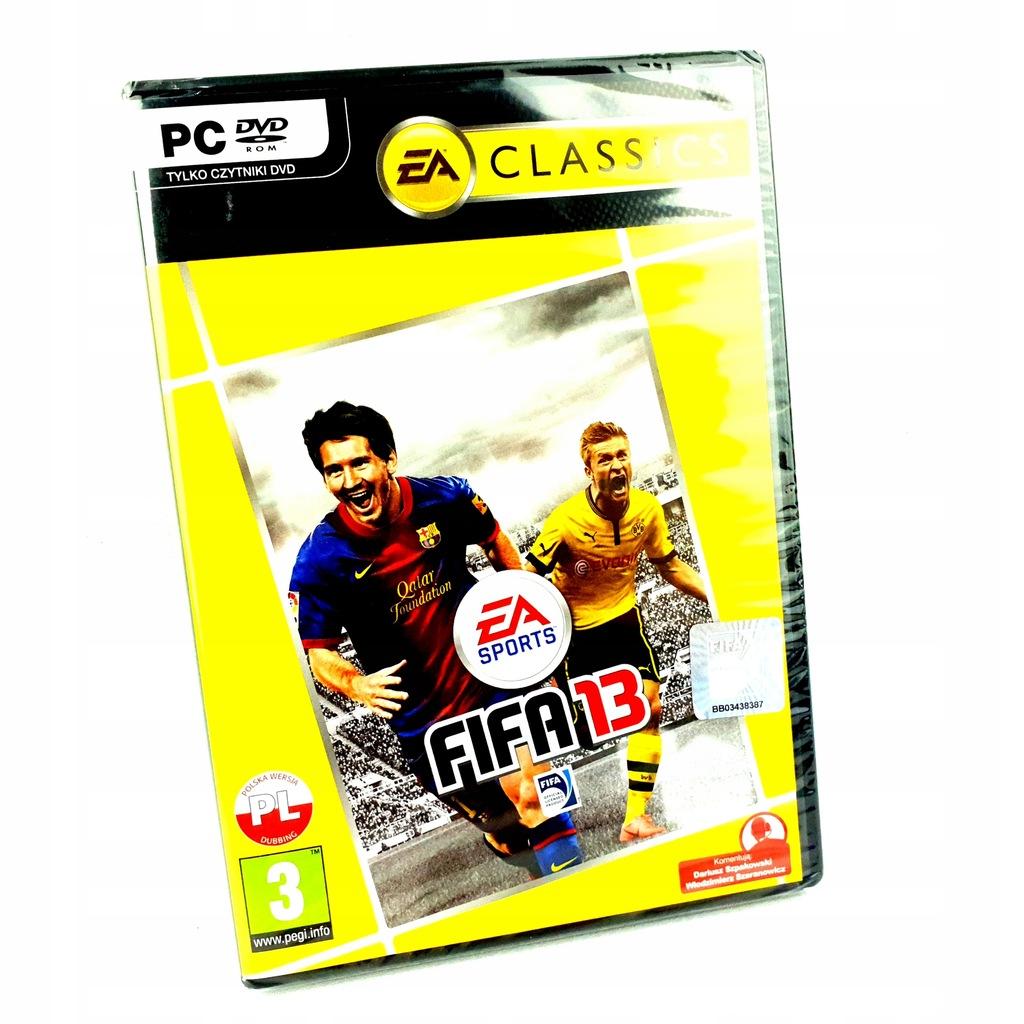 NOWA FIFA 13 / 2013 PC POLSKIE WYDANIE PL