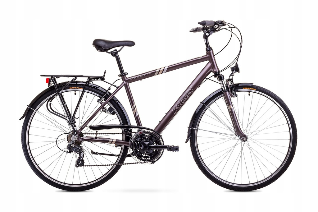 Rower ROMET WAGANT brązowy 19 M