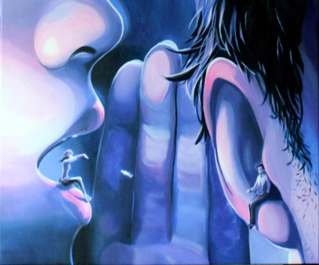 Monika Król Lockdown obraz 60x50cm