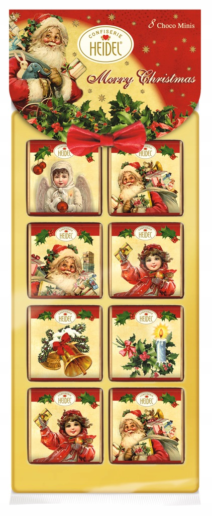 Świąteczne czekoladki pod choinkę prezent święta