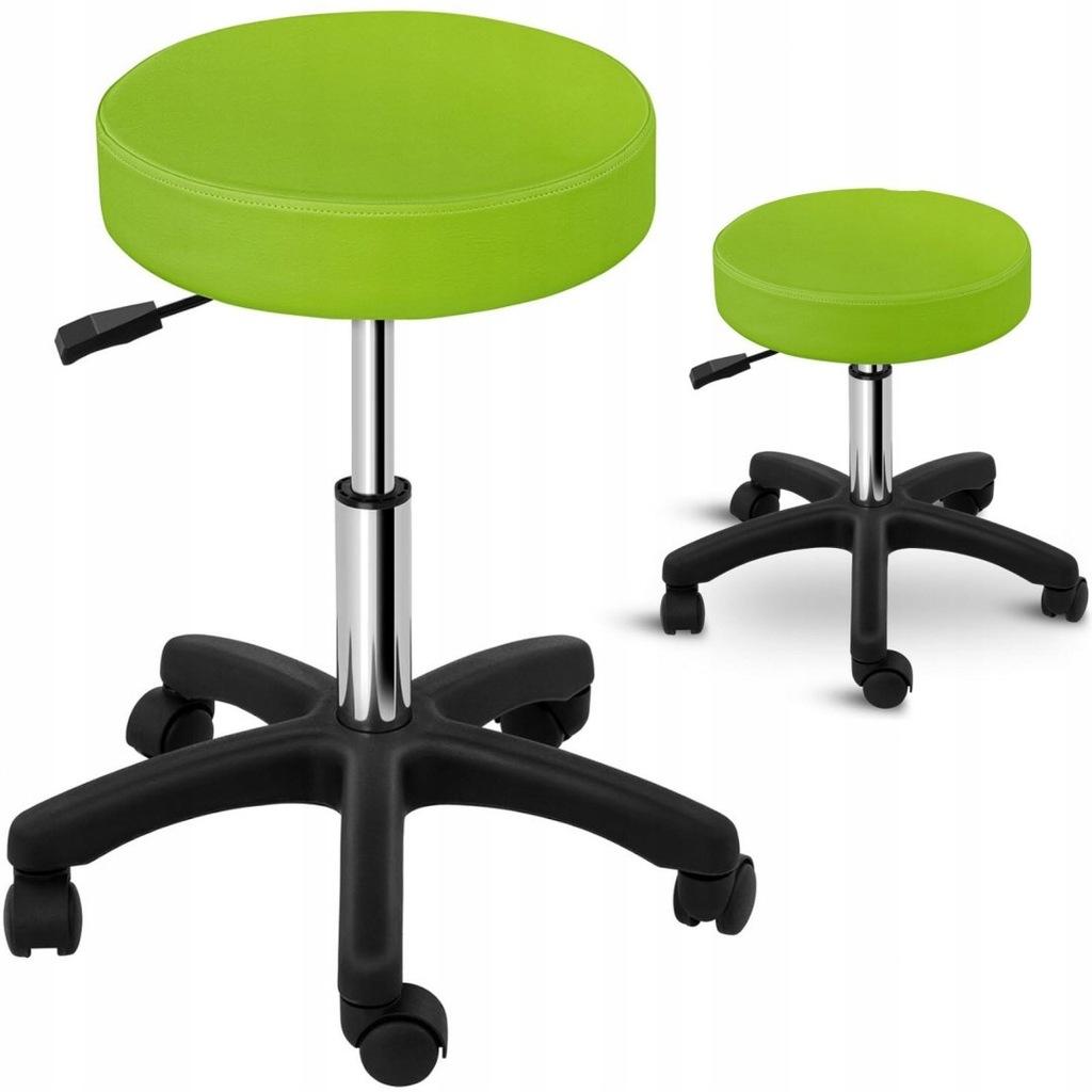 Taboret stołek hoker kosmetyczny obrotowy na kółka