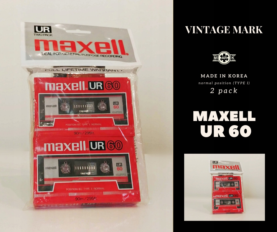 MAXELL UR 60 2pack - NOS
